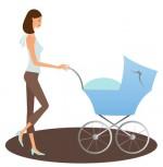 mama-mit-kinderwagen