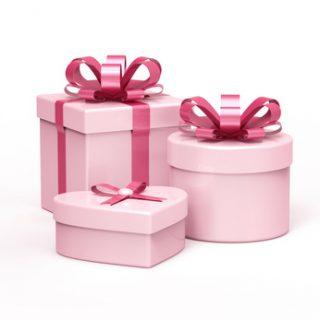 Geschenke rosa