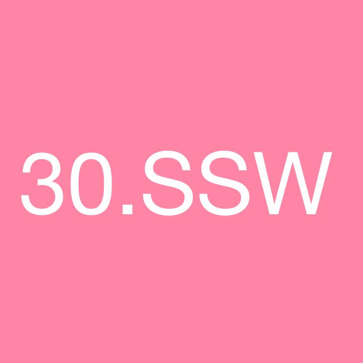 30 ssw welcher monat