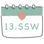 13. SSW 13. Schwangerschaftswoche im Kalender im 4. Schwangerschaftsmonat