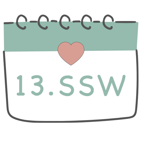 13. SSW - 13. Schwangerschaftswoche