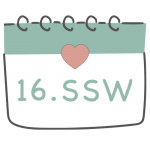 16. SSW 16. Schwangerschaftswoche im Kalender im 4. Schwangerschaftsmonat