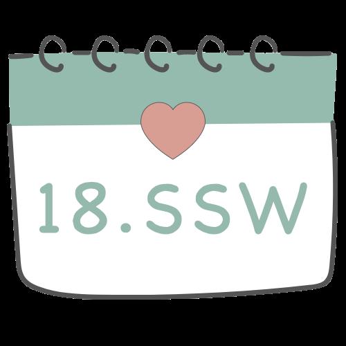 18. SSW - 18. Schwangerschaftswoche