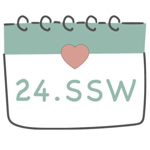 24. SSW - 24. Schwangerschaftswoche