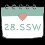 28. SSW 28. Schwangerschaftswoche im Kalender im 7. Schwangerschaftsmonat