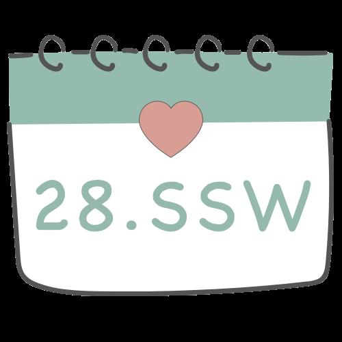 28. SSW - 28. Schwangerschaftswoche