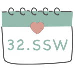 32. SSW 32. Schwangerschaftswoche im Kalender im 8. Schwangerschaftsmonat