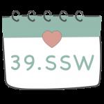 39. SSW 39. Schwangerschaftswoche im Kalender im 10. Schwangerschaftsmonat