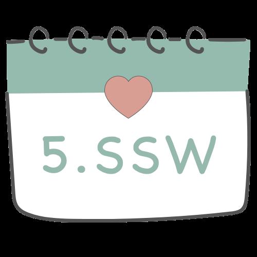 5. SSW - 5. Schwangerschaftswoche