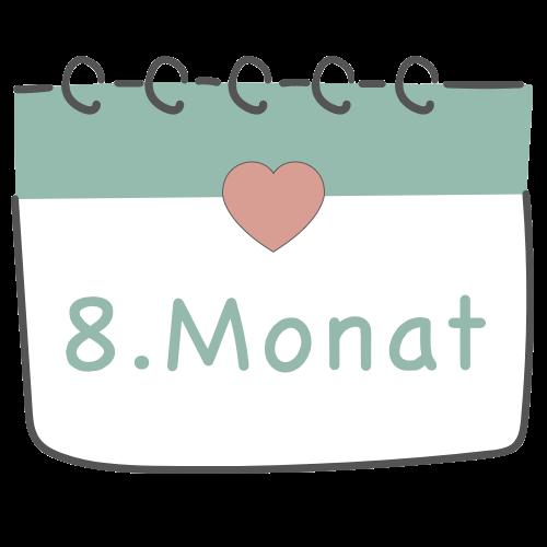 8. Schwangerschaftsmonat